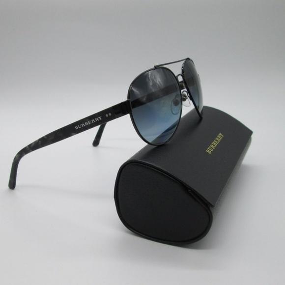 166f14f368d4 Burberry Other - Burberry B3086 Aviator Men s Sunglasses w case